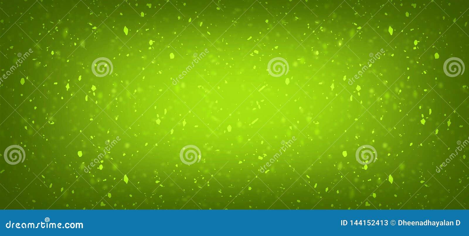 Verde con el fondo fresco de la pendiente de la textura del color del oro para