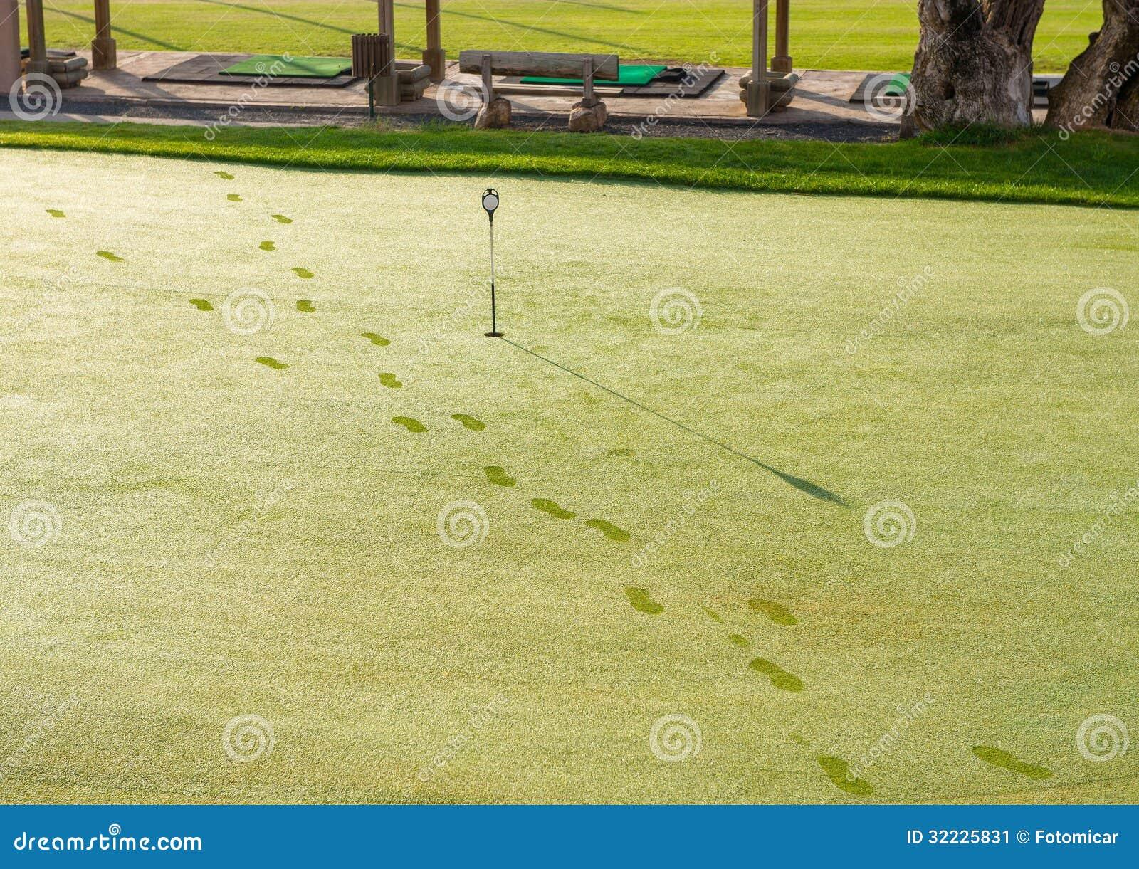 Download Verde De Colocação Do Golfe Imagem de Stock - Imagem de vazio, escala: 32225831