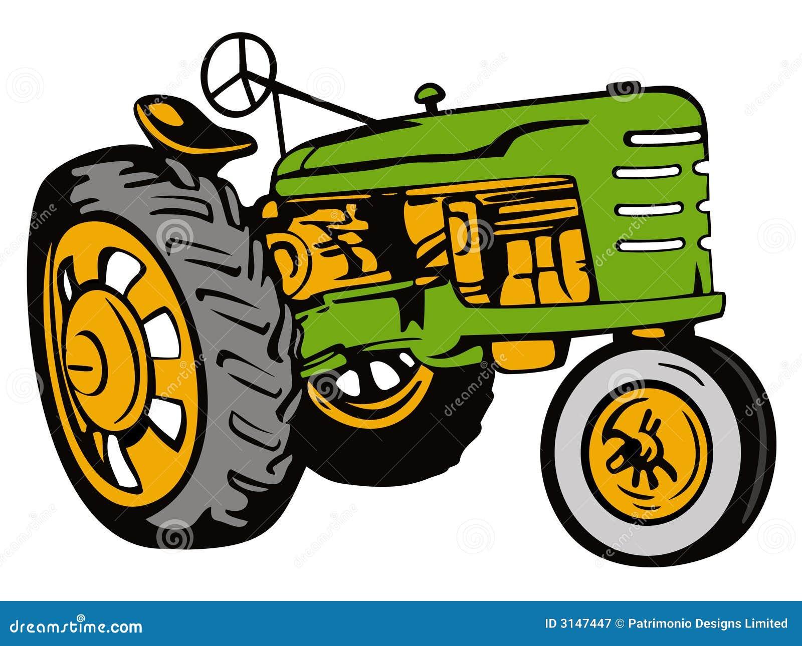 Verde del trattore dell annata