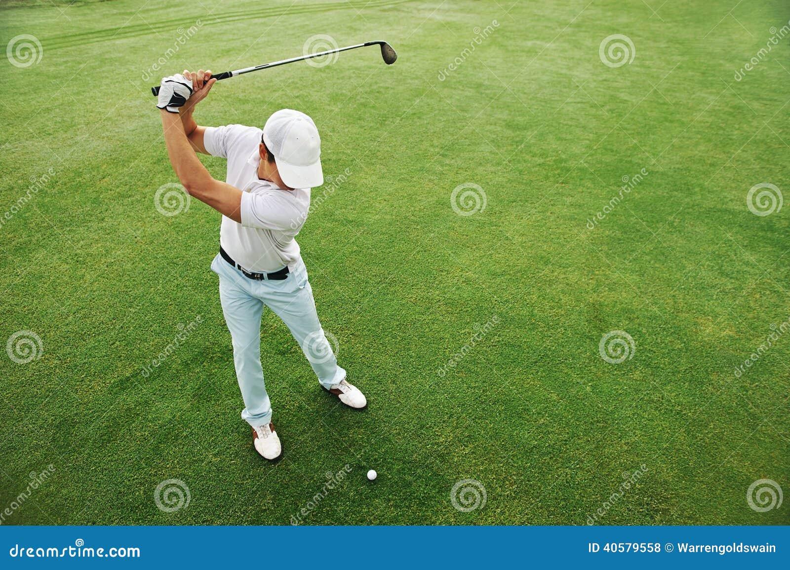 Verde di tiro in buca di golf