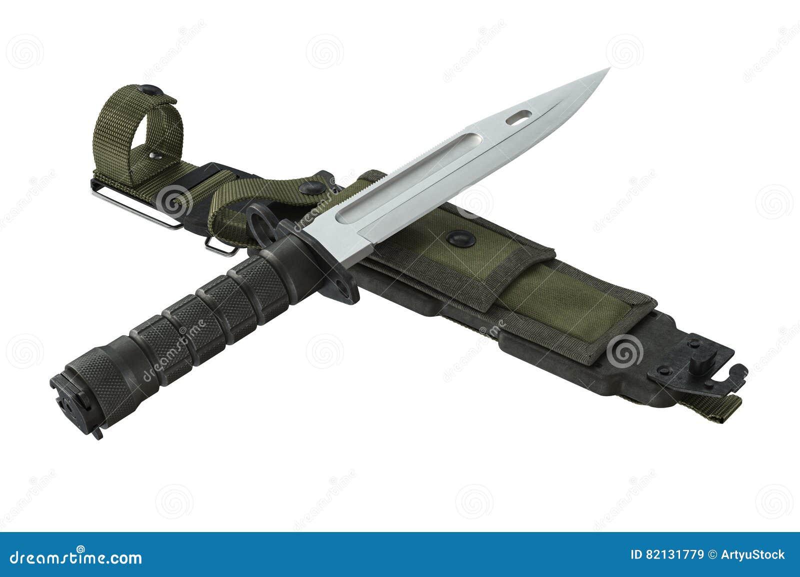 0886c6c928 Arma do combate do verde do exército da faca rendição 3d. Mais ilustrações  de stock similares