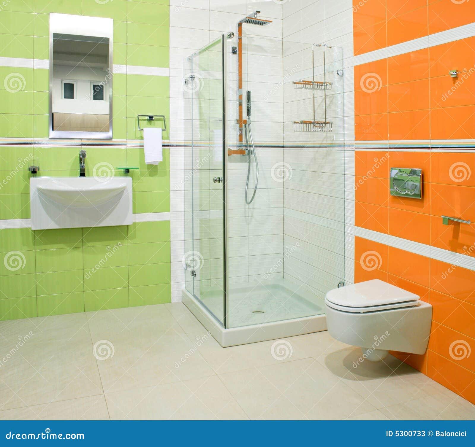 Download Verde ed arancio immagine stock. Immagine di disegno, lifestyle - 5300733