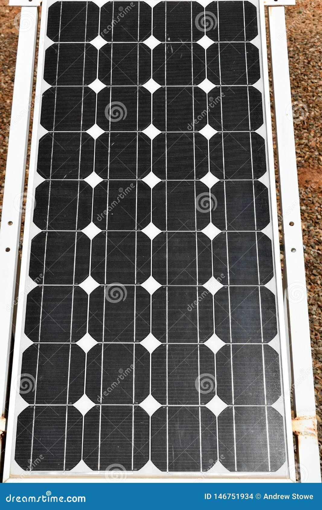 Verde policristallino del pannello solare