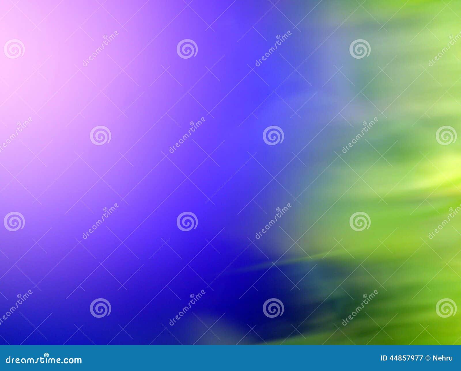 Verde y azul, fondo de la ecología