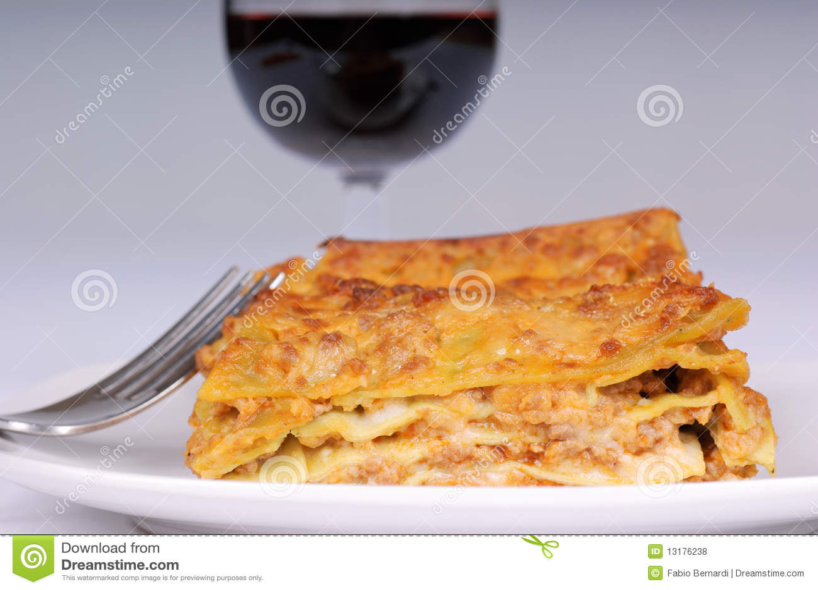 Verdi κουρελιών Al lasagne