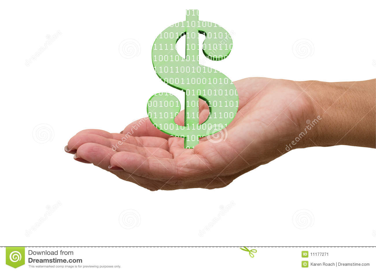 Verdienen des Geldes auf dem Internet