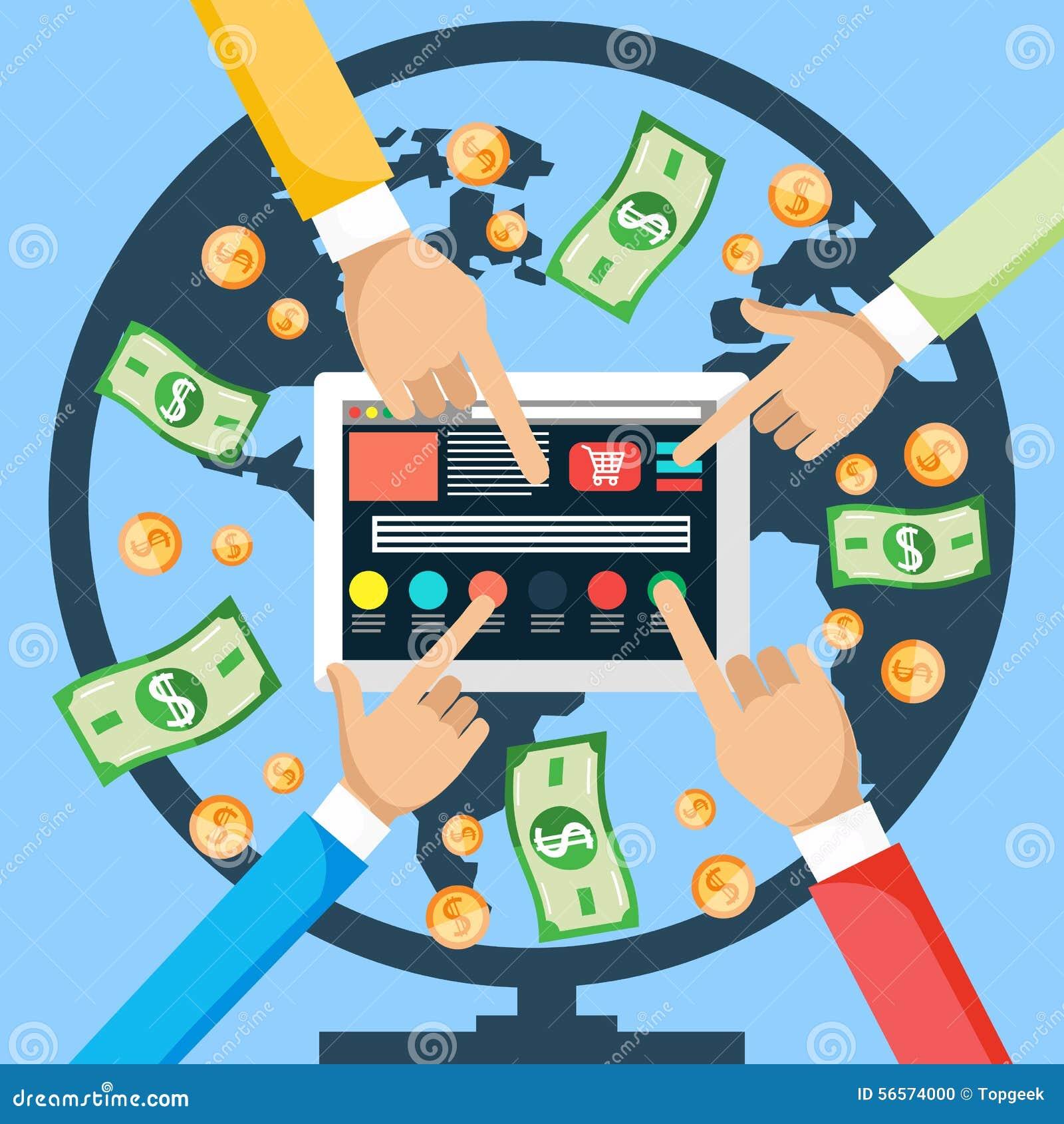 Verdienen Sie Geld vom Internet