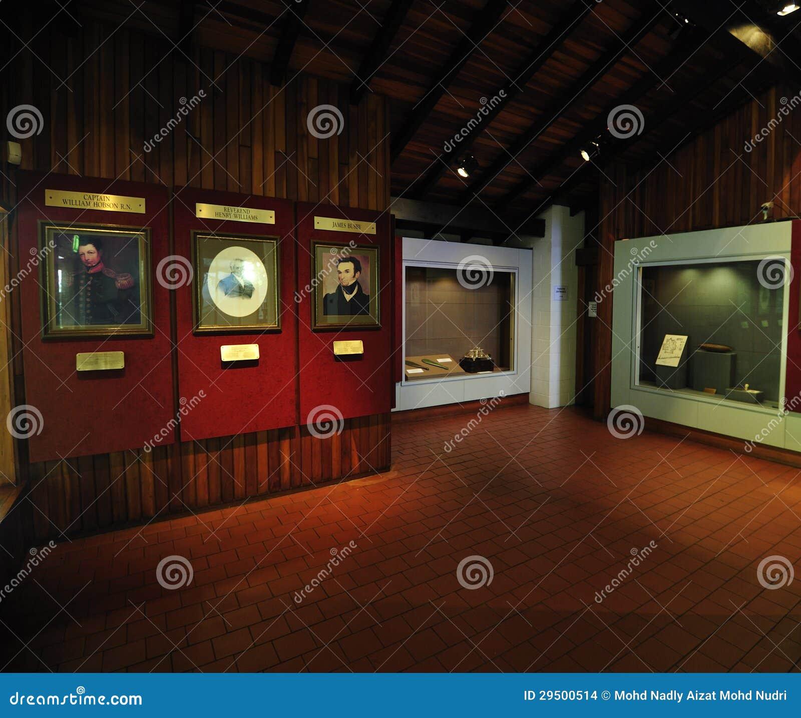 Verdrag van Waitangi Museum, Paihia