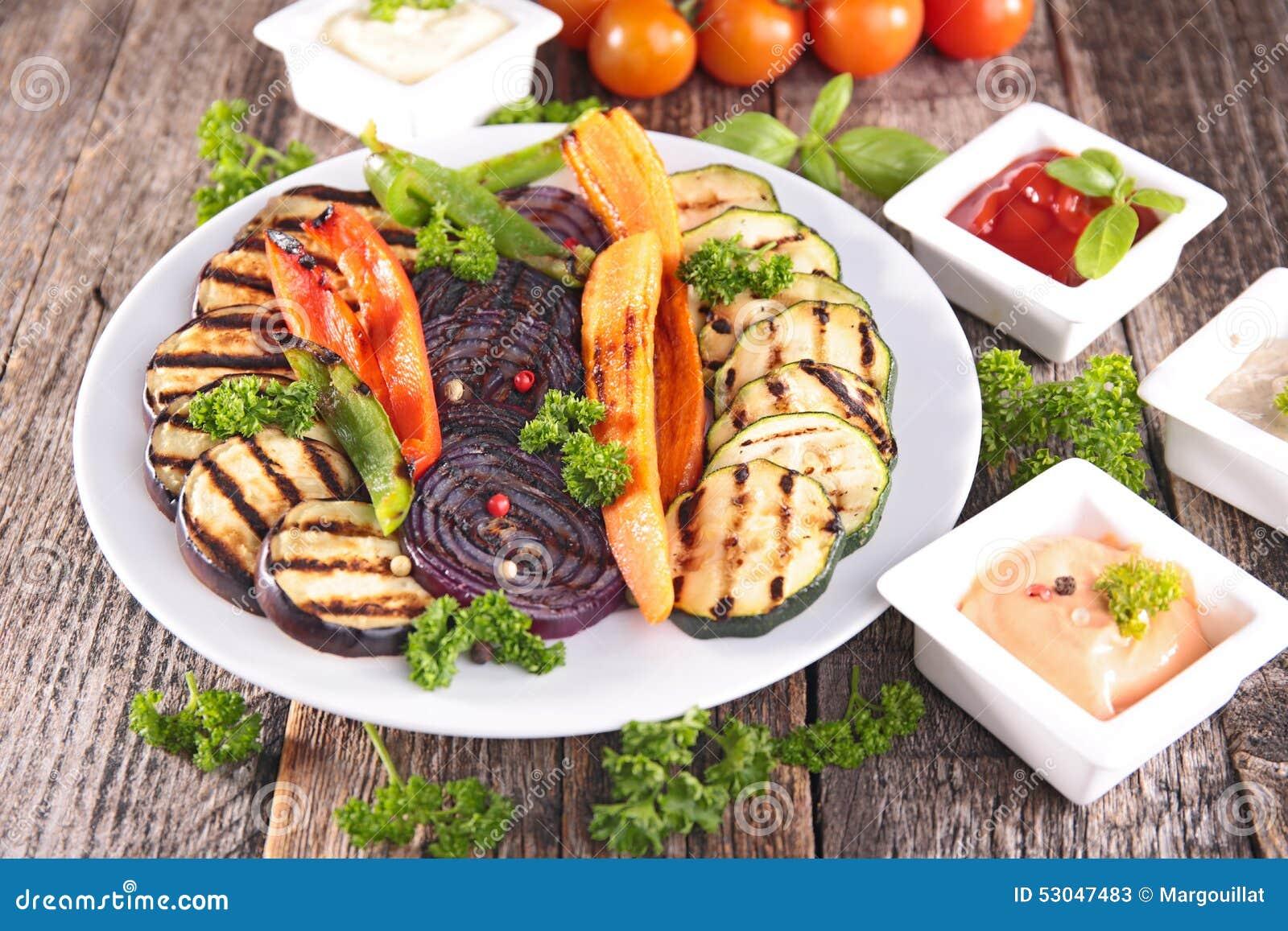 verduras de la barbacoa foto de archivo imagen 53047483