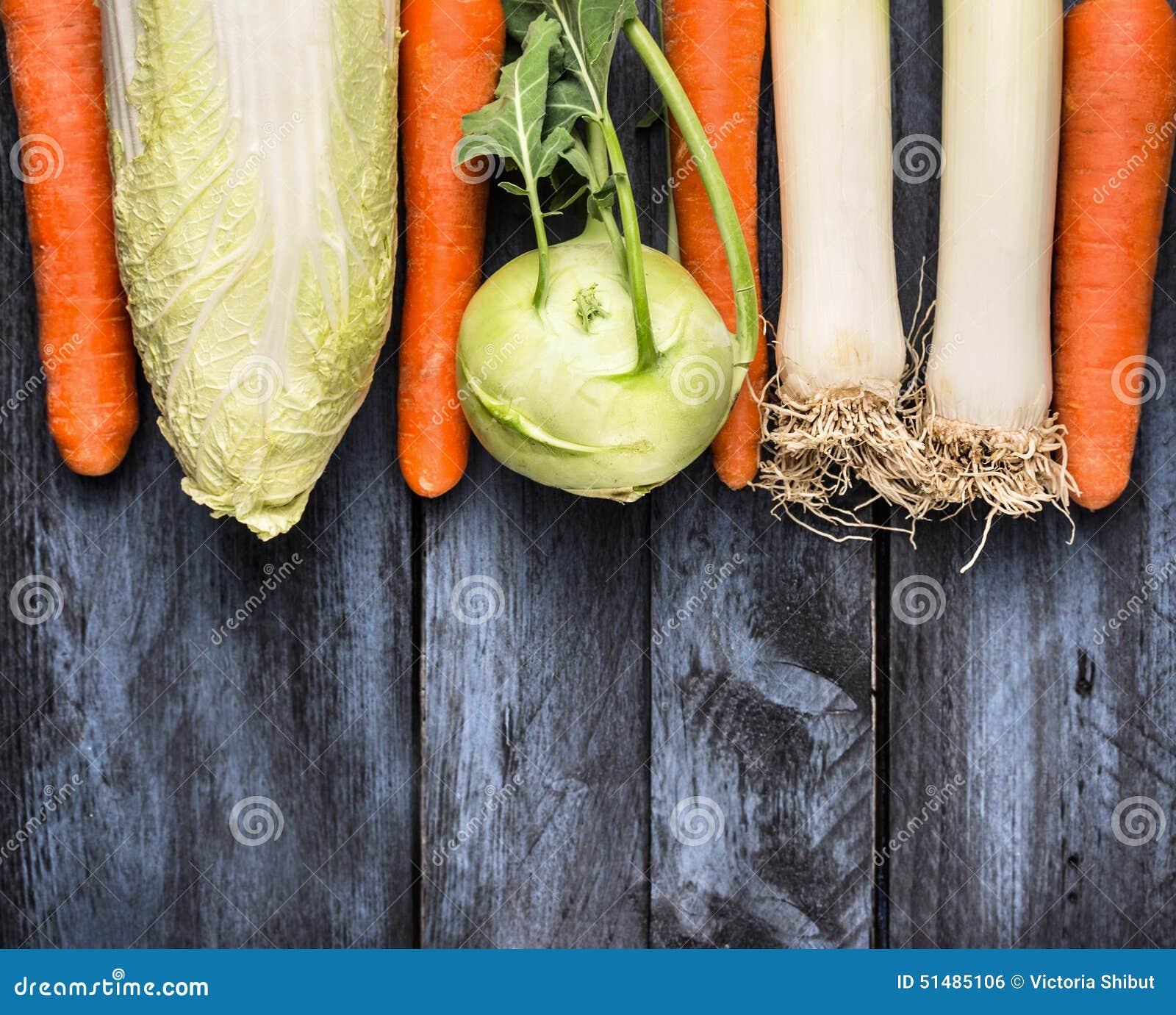 Cocinar Puerro | Verduras Diversas Para Cocinar Puerro Kolrabi Col Y Zanahorias
