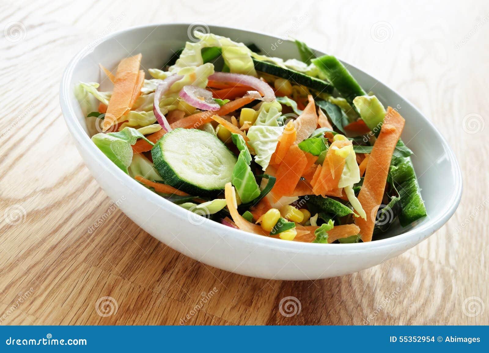 Verdure della frittura di scalpore