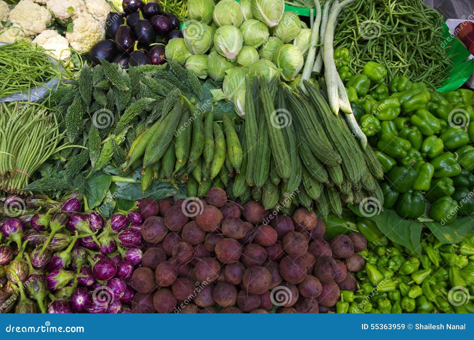 Verdure variopinte