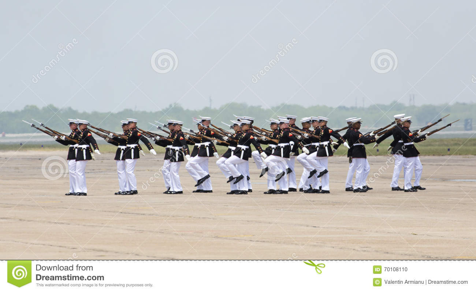 Verenigde Staten Marine Corps Silent Drill Team