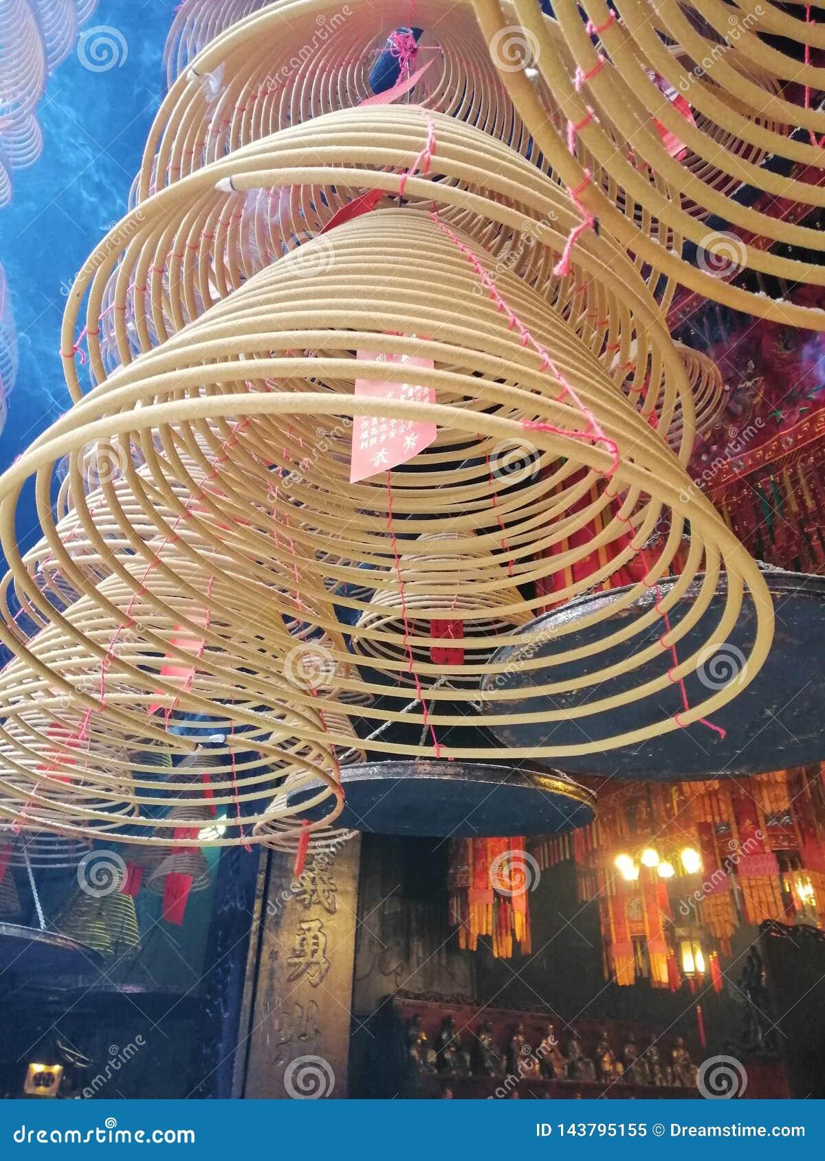 Vereringsrol in Boeddhismetempel
