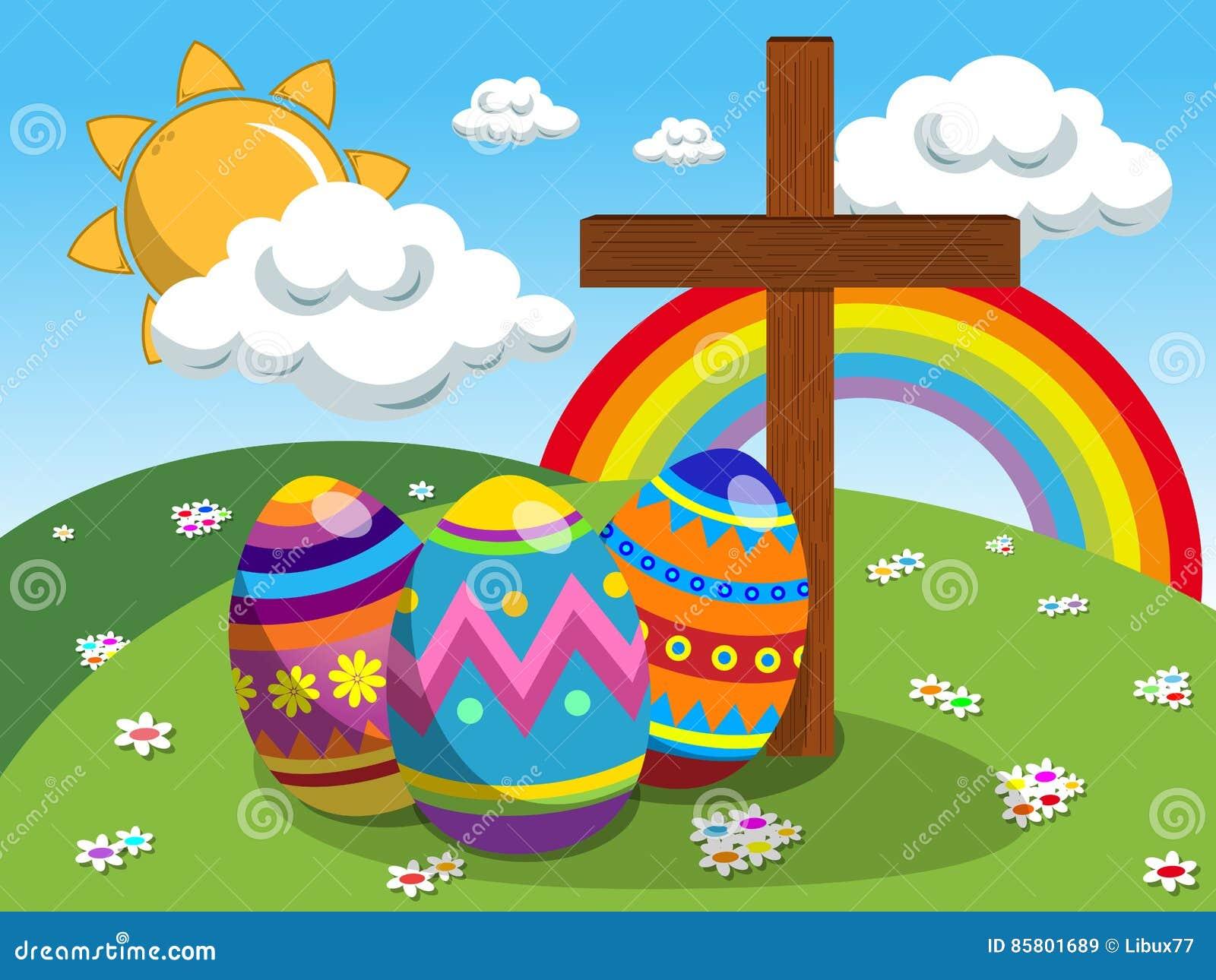 Easter Resurrection Cake