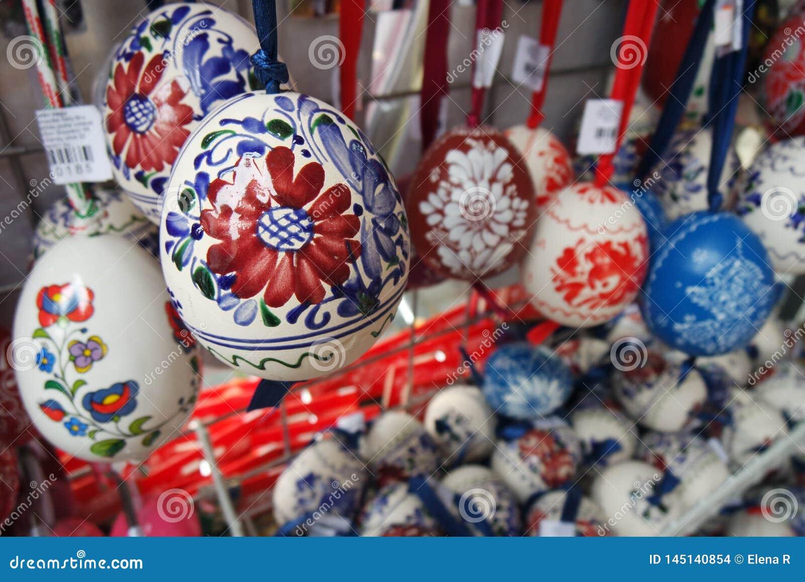 Verfraaide Paaseieren Handcrafted/Folklore