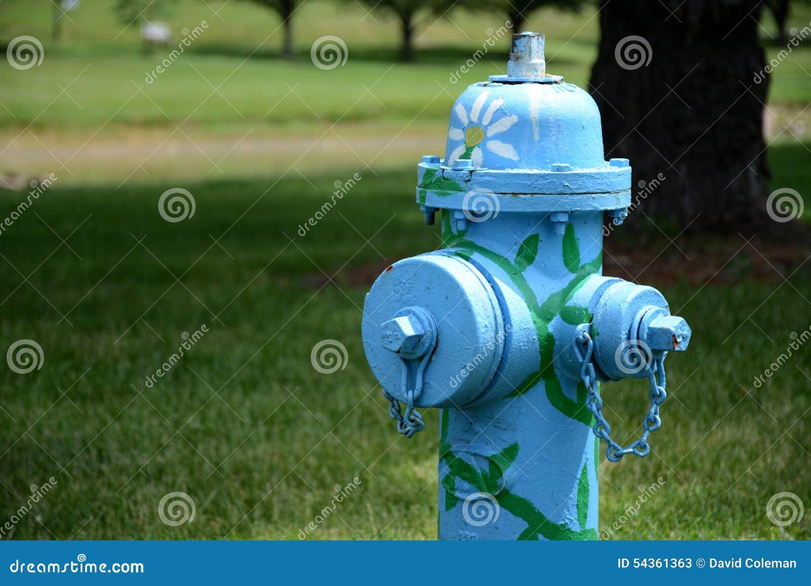 Verfraaide sparhydrant