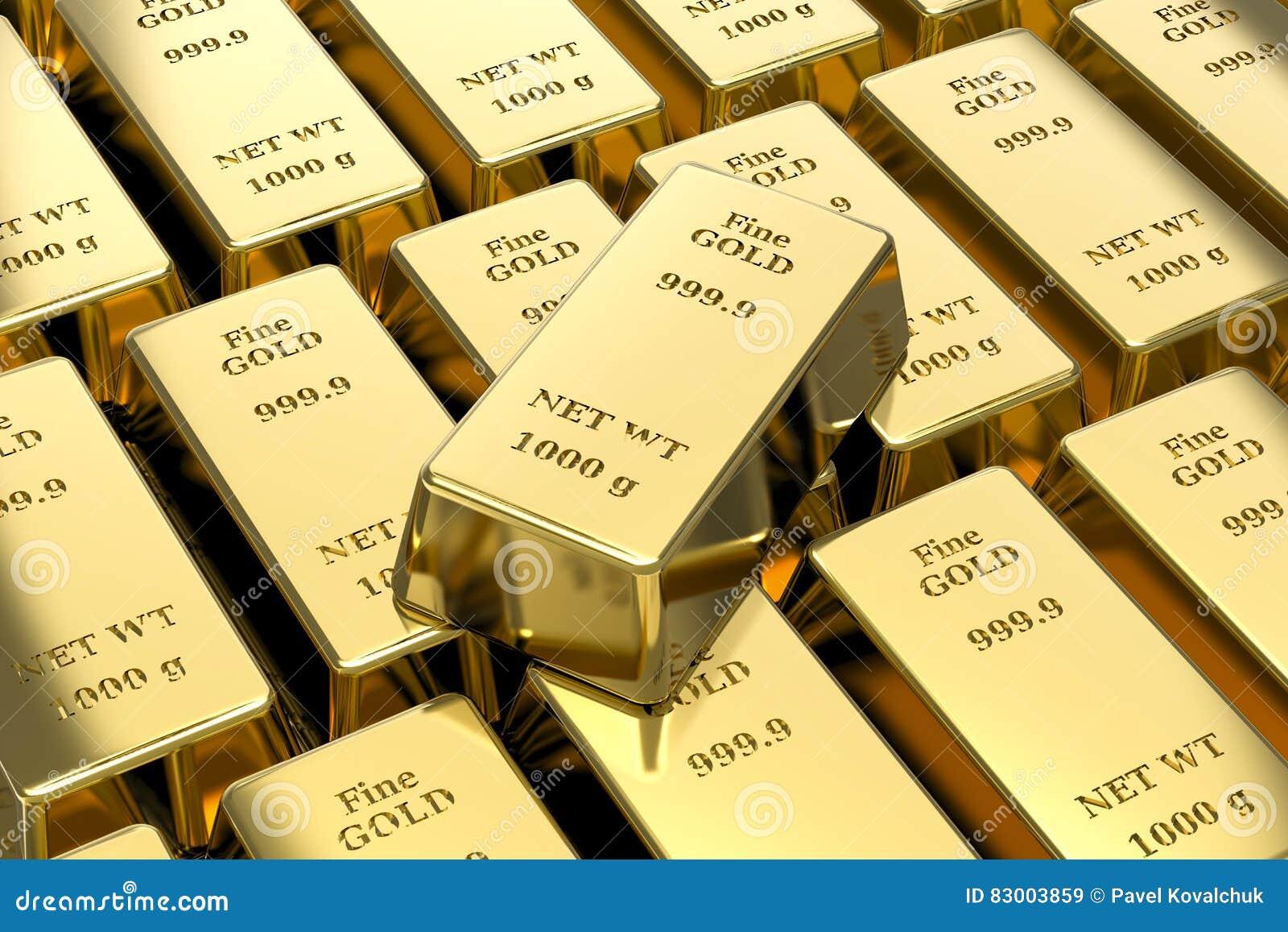 Verga d oro, barre di oro