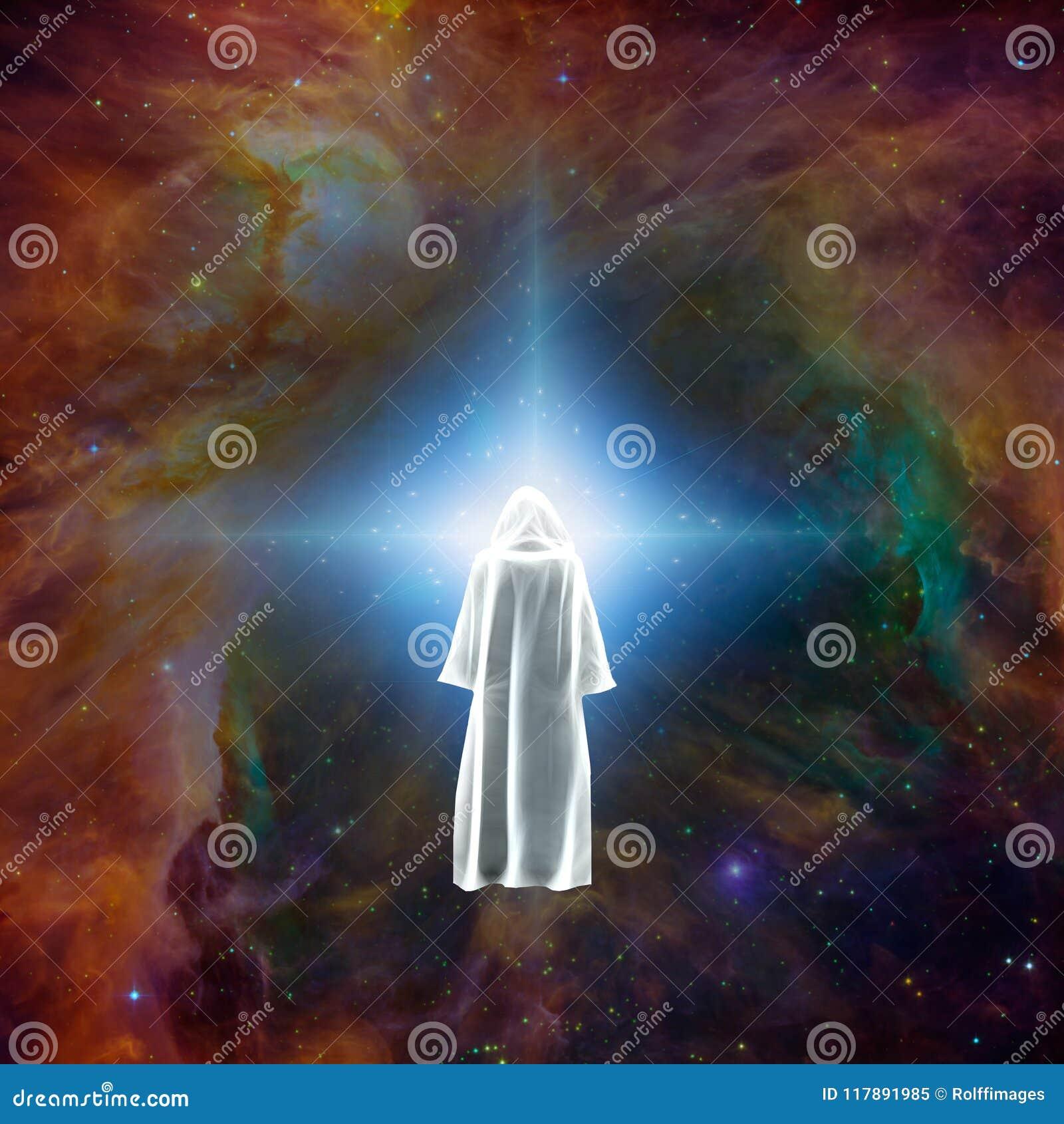 Vergadering met engel