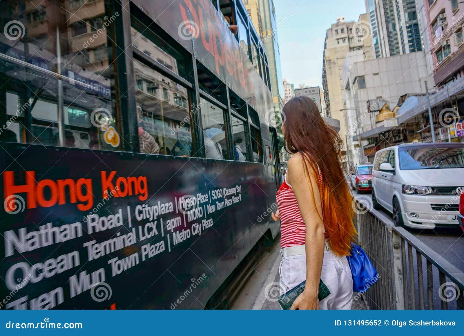 Vergadering met Hong Kong-straat