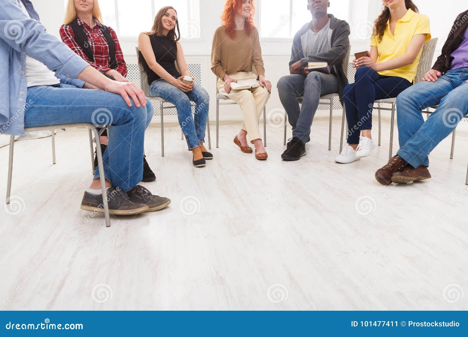 Vergadering van steungroep, exemplaarruimte