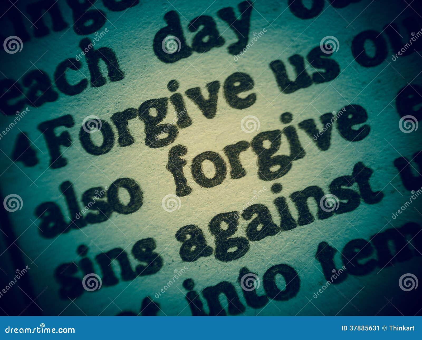 Vergeef ons onze zonden (Onze Vader)