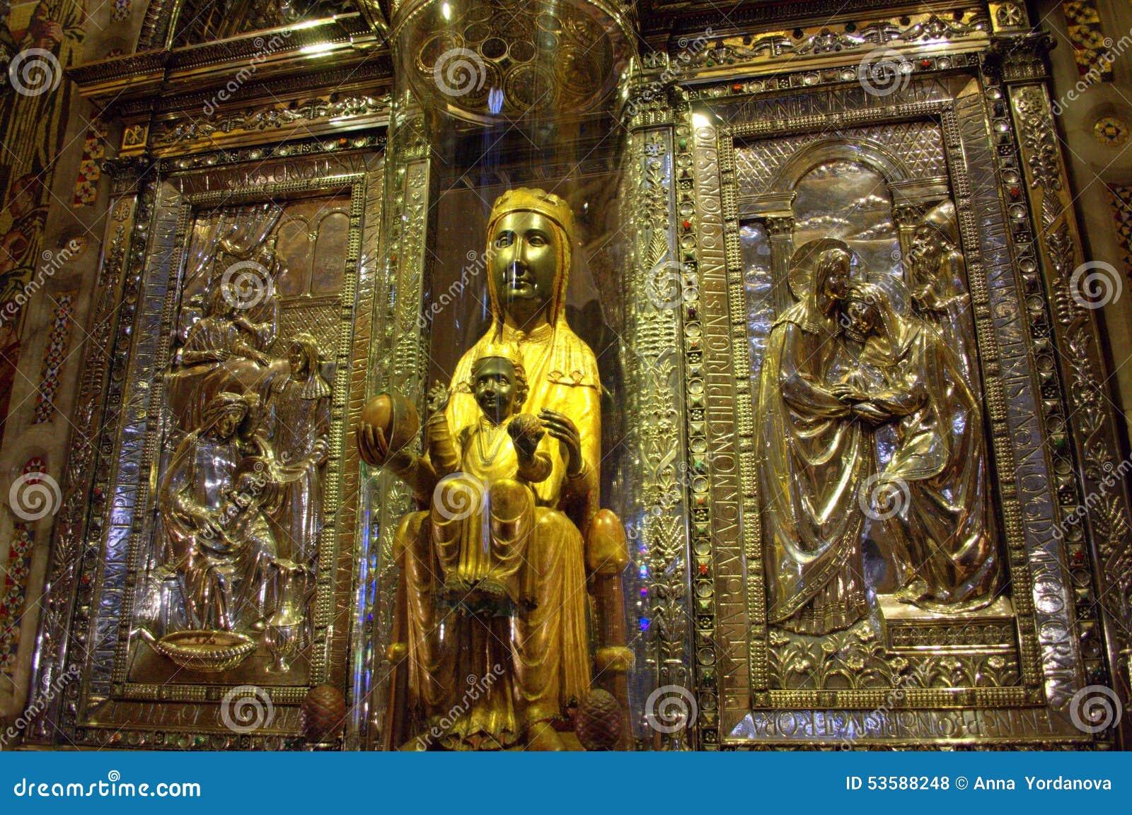 La nostra signora di Montserrat o del vergine di Montserrat o il nero  Madonna 8859fac5f20