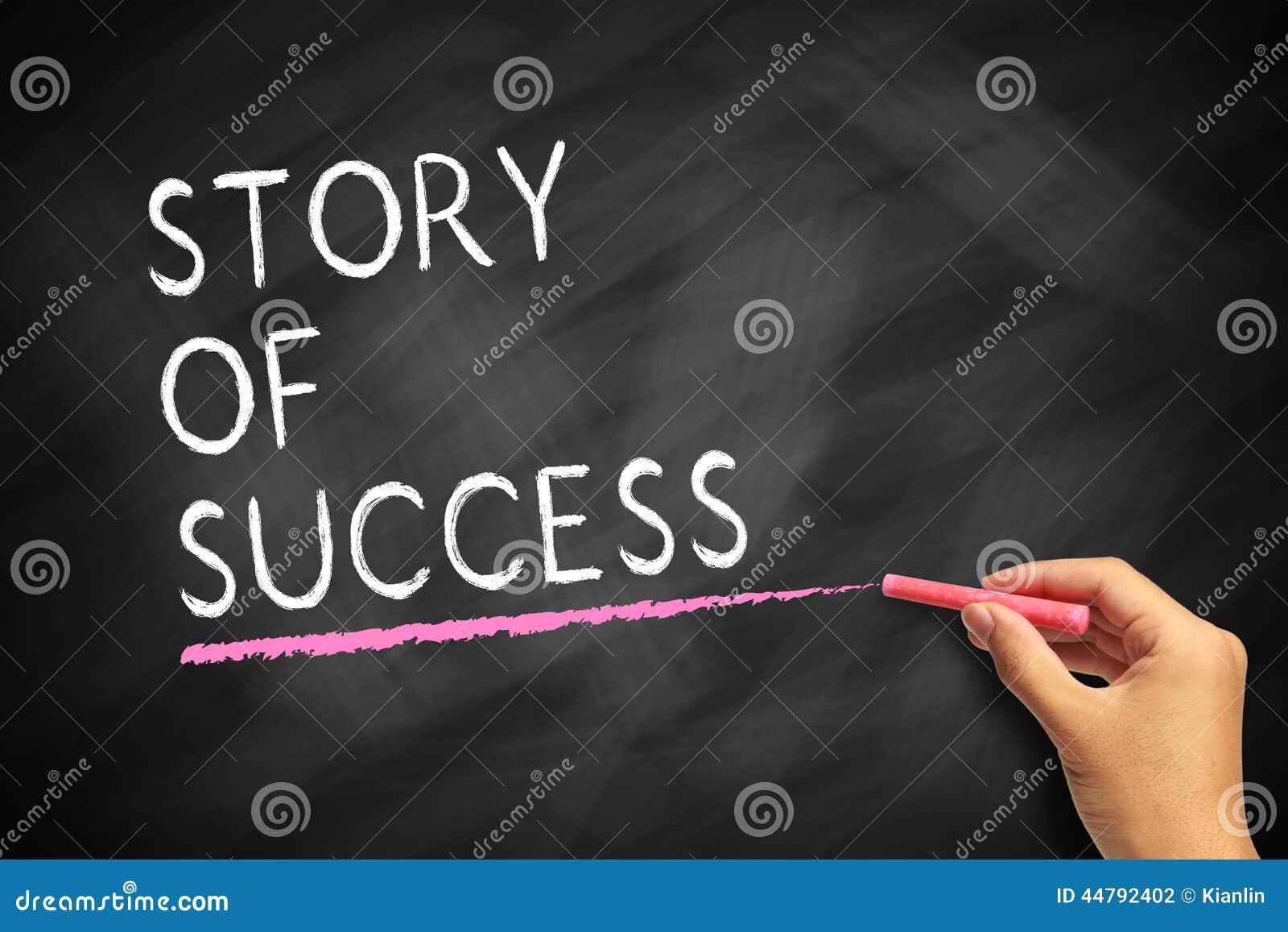 Verhaal van succes