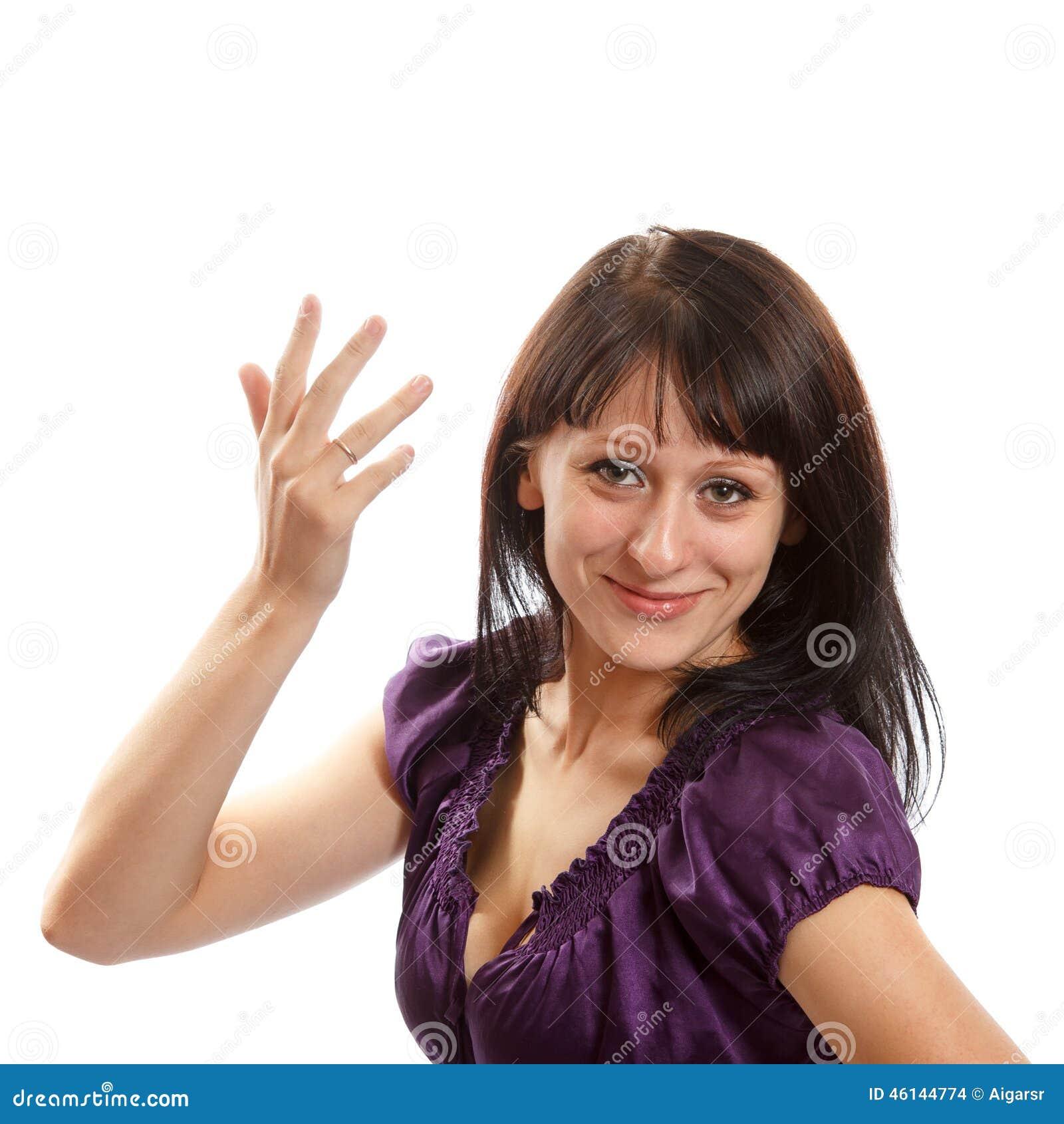 Verheiratete Frau stockfoto. Bild von attraktiv, herrlich