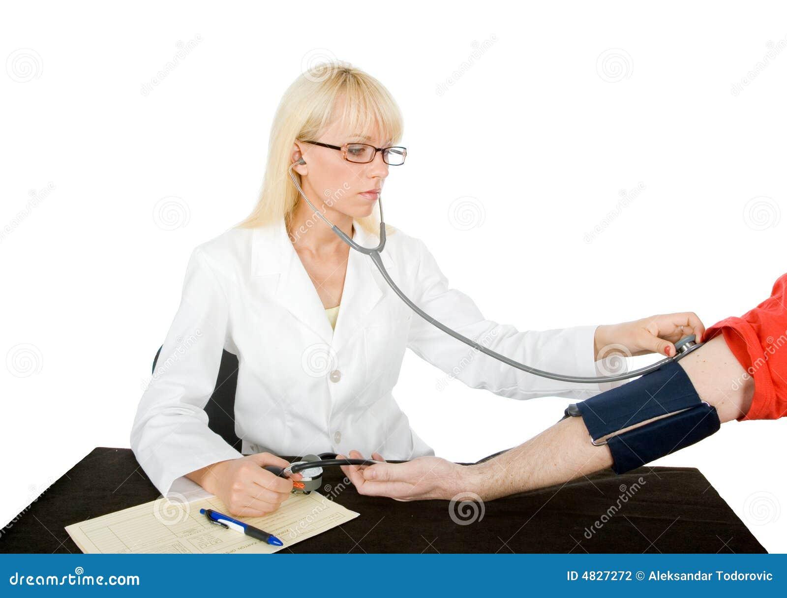 Verific a sangue-pressão
