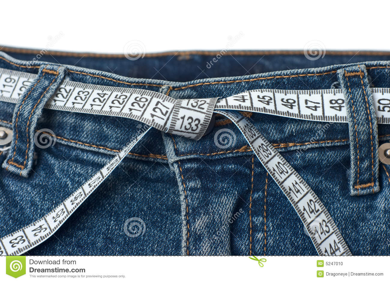 Verificação da cintura e conceito de controle do peso adicional