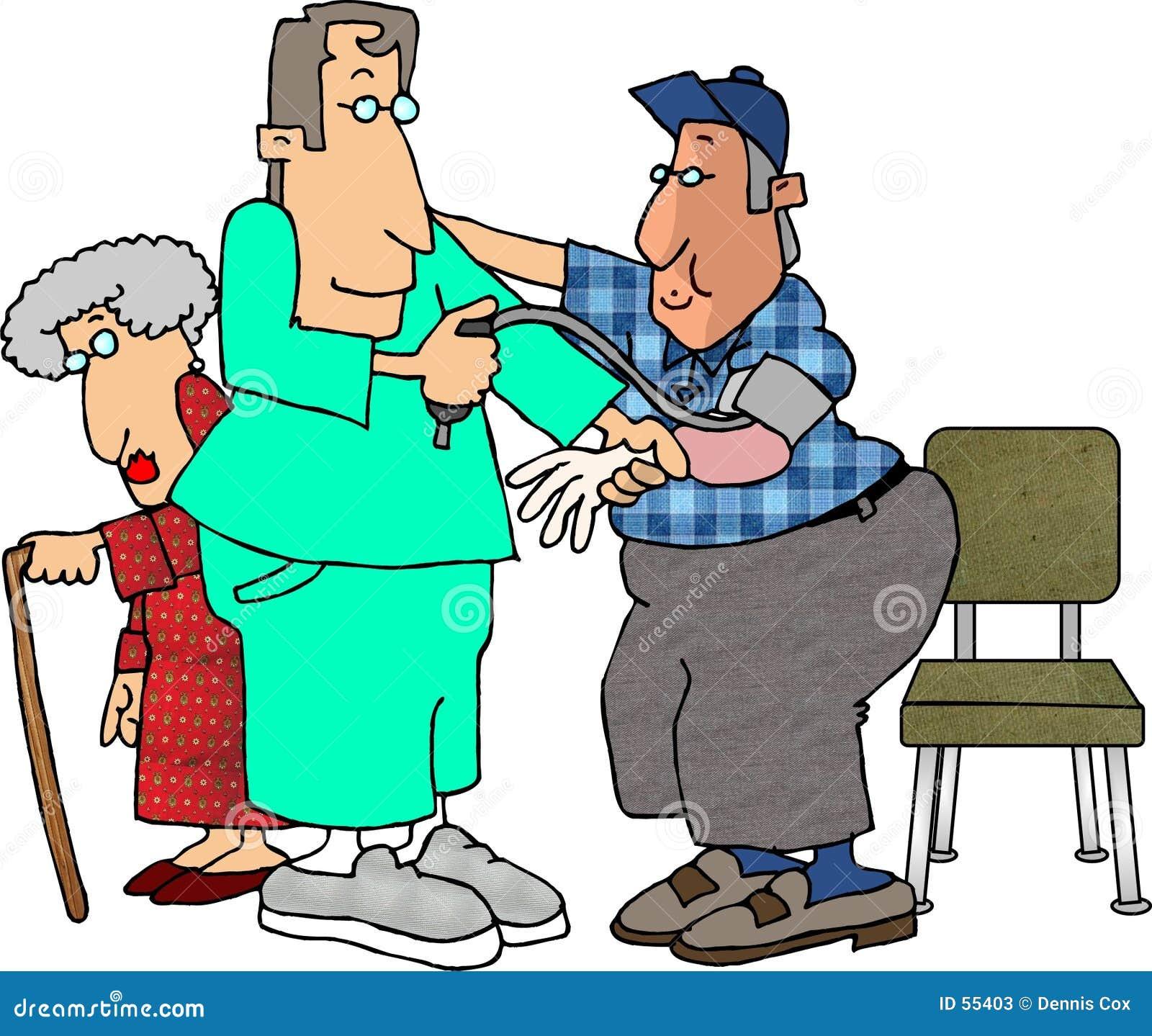 Verificação de pressão sanguínea