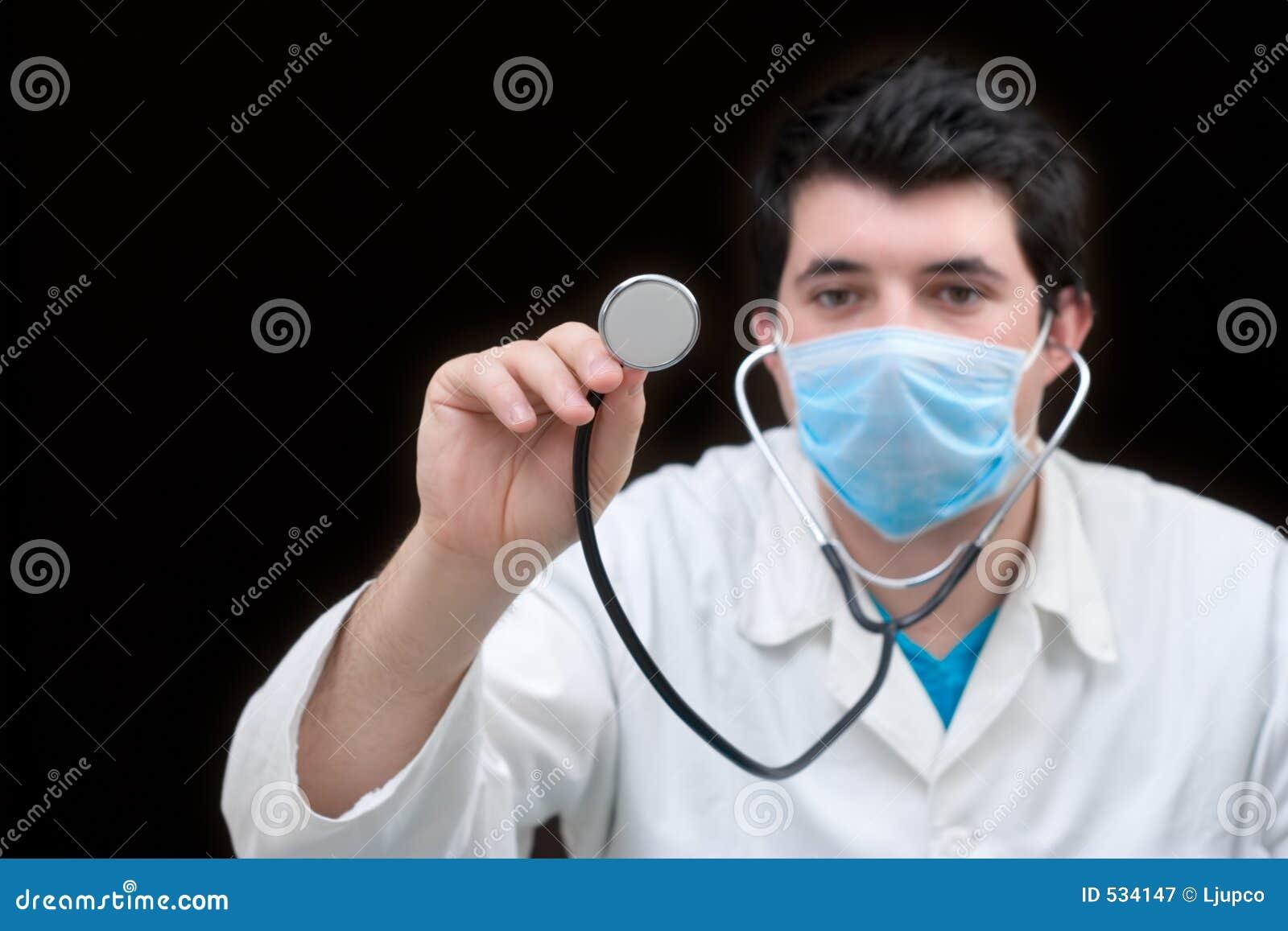 Verificação médica acima