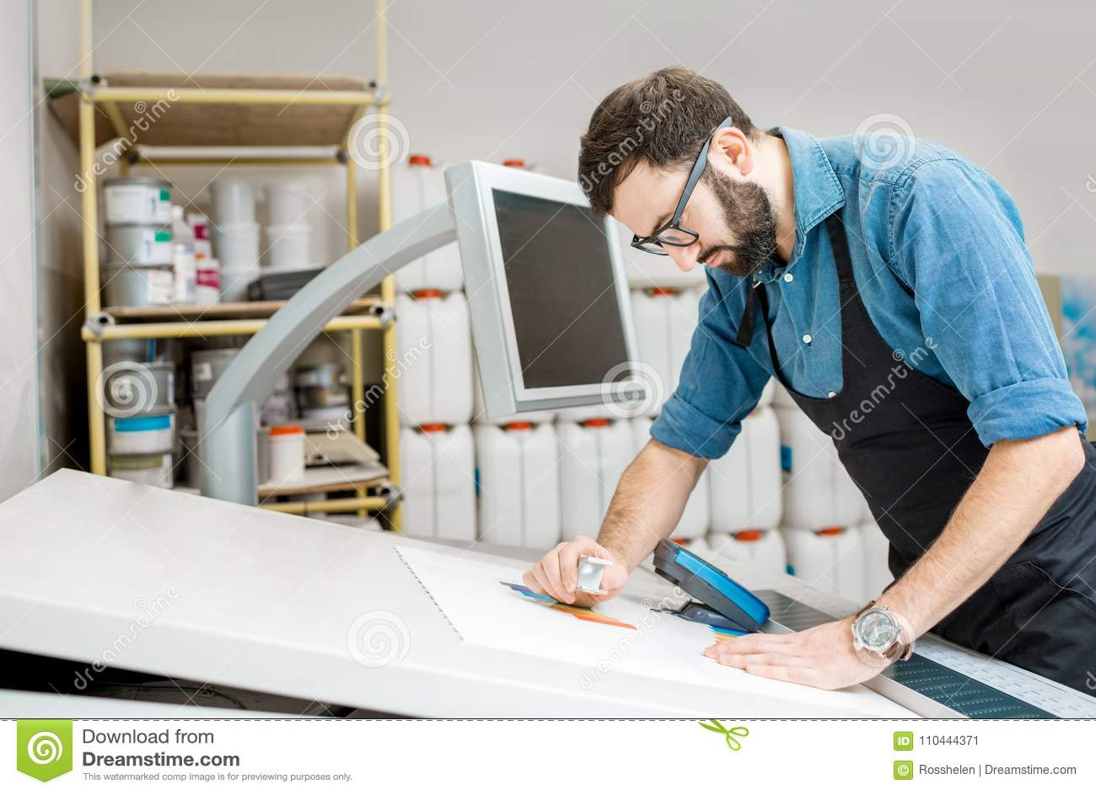 Verificando a qualidade da impressão com a lupa