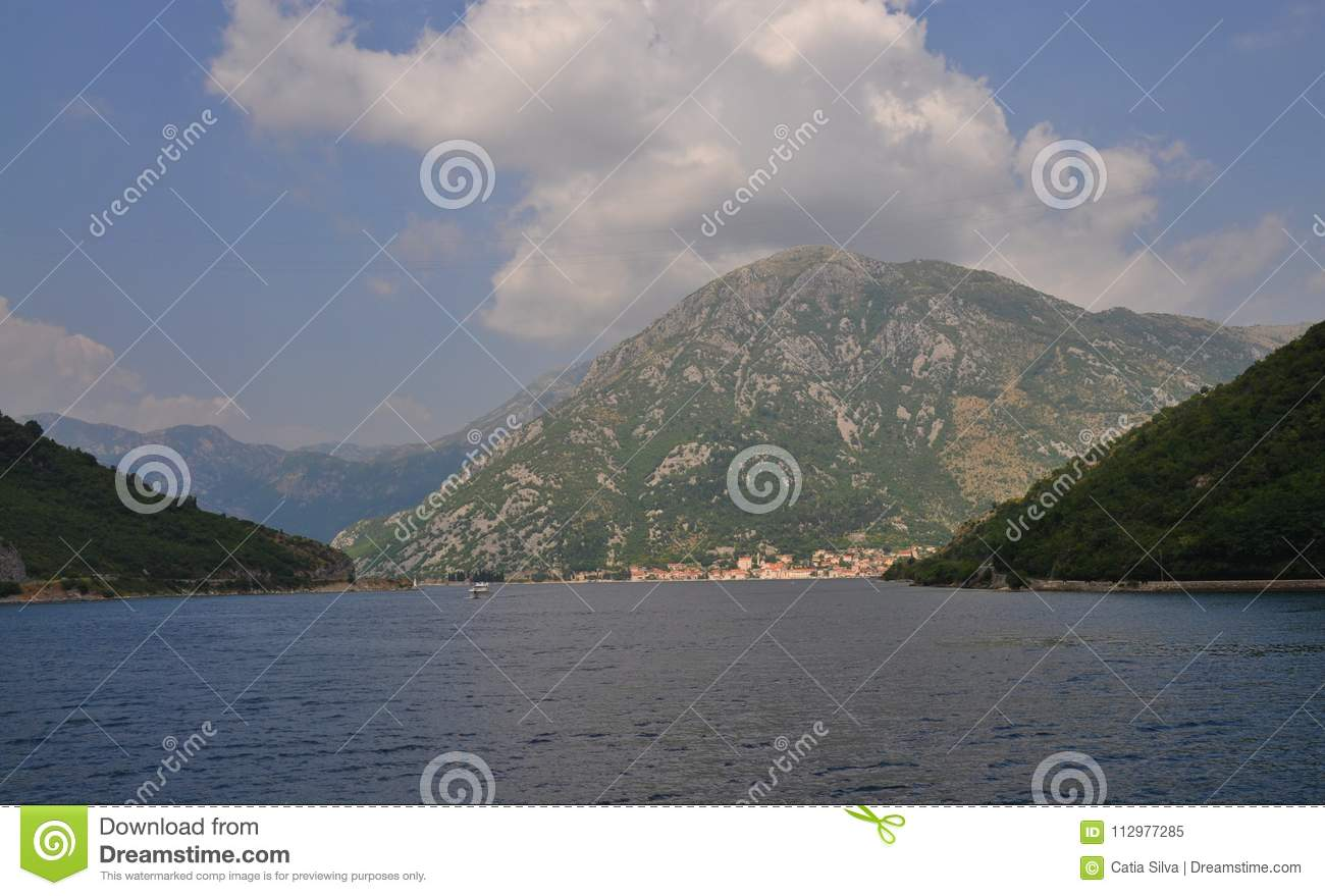 The Verige strait - Kotor Bay