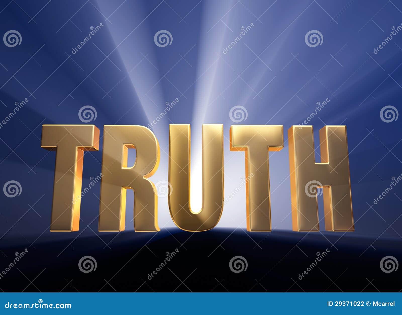 Verità stampata in neretto