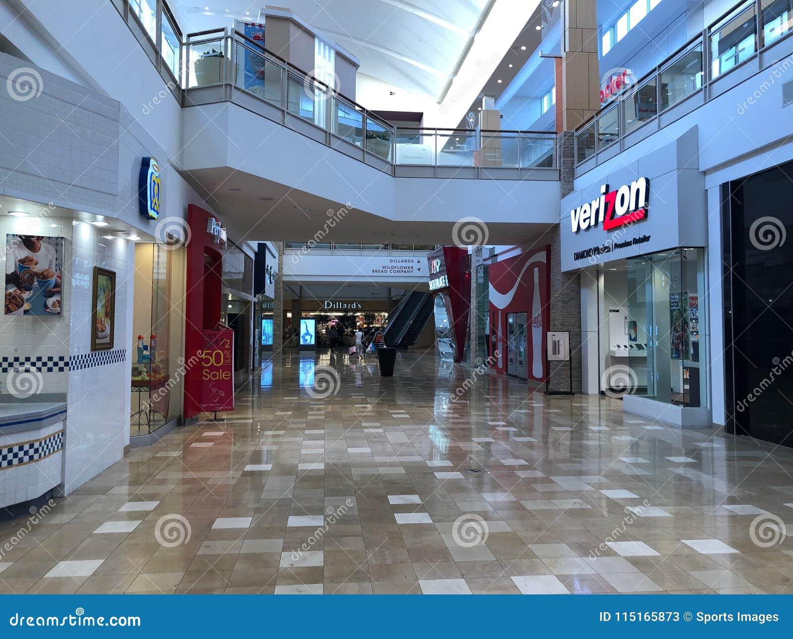 Verizon Wireless almacena el frente en el cerero Arizona Shopping Mall