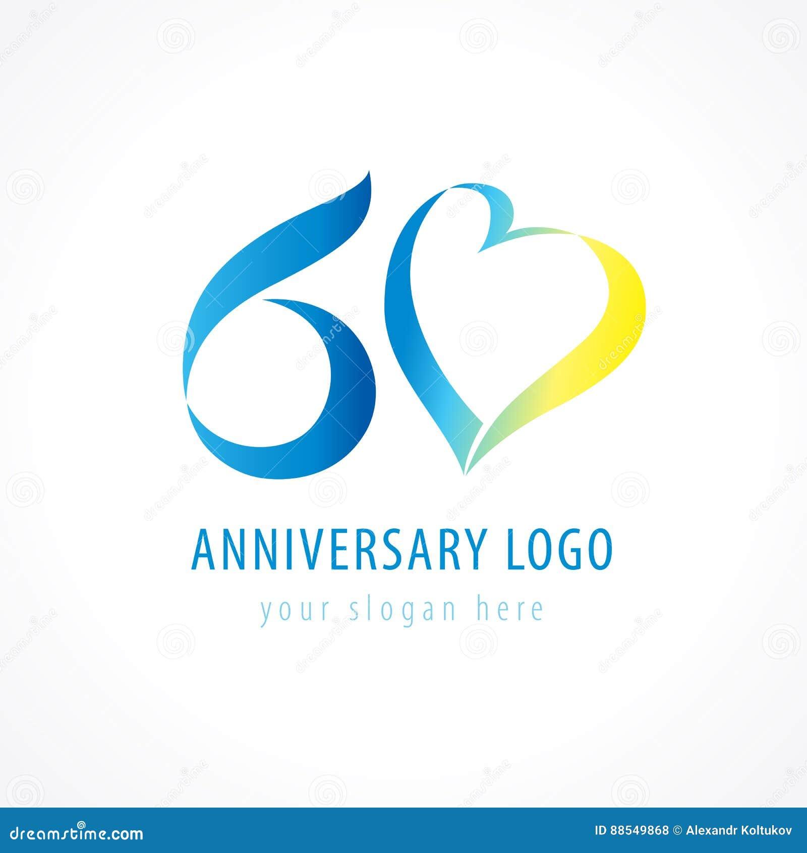 Verjaardag 60 Jaar Vector Illustratie Illustratie Bestaande Uit