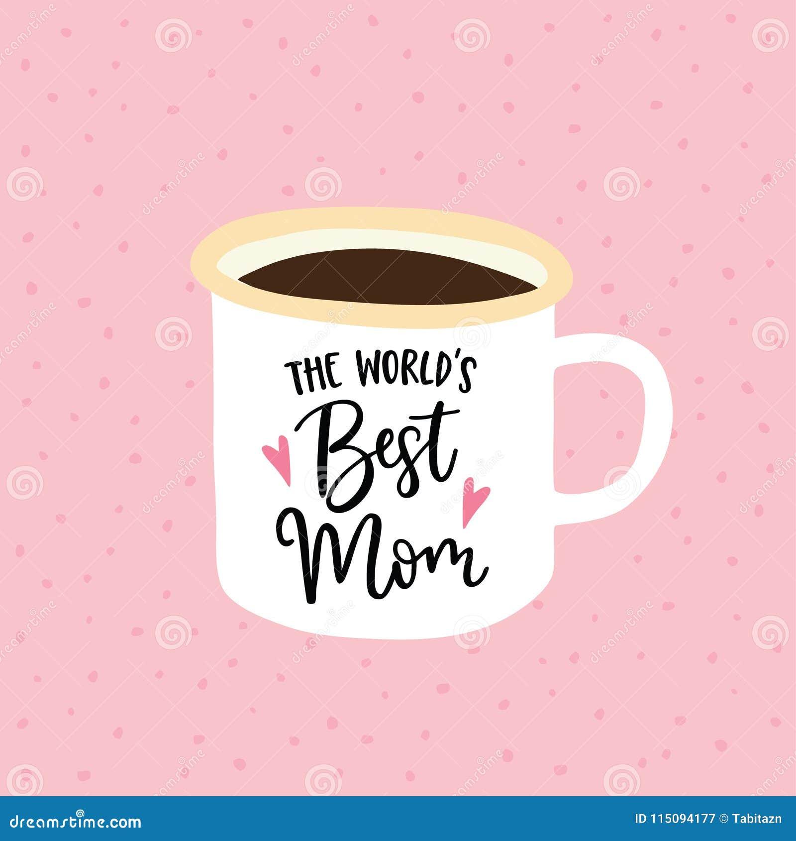 Verjaardag Of Van De Moedersdag Groetkaart Uitnodiging De Met De