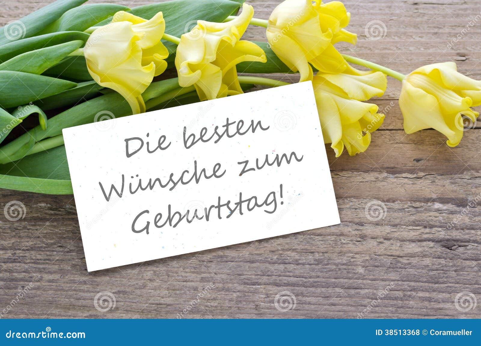 Verjaardagskaart Duits Janknegtfineart
