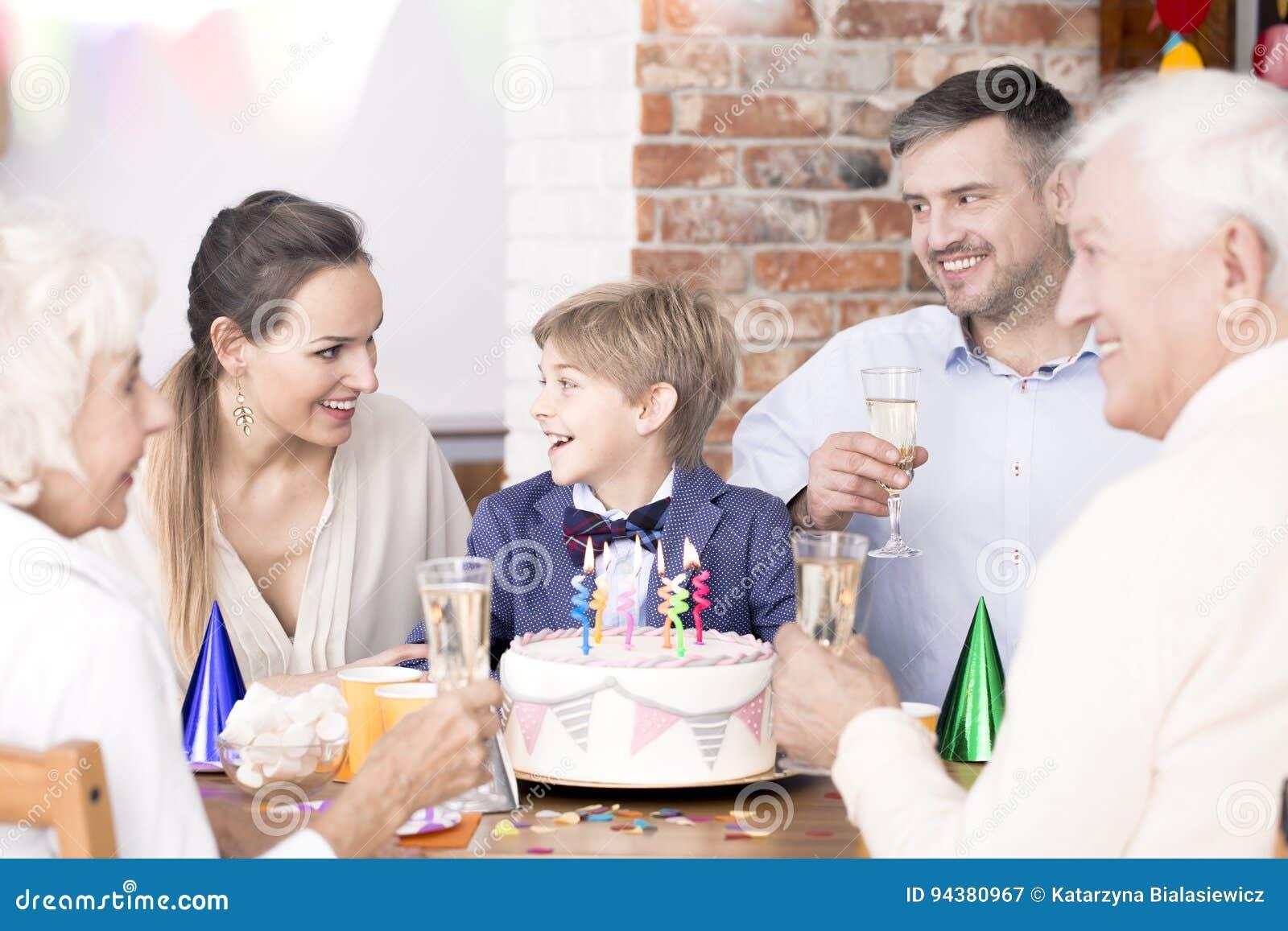 Verjaardagspartij met familie