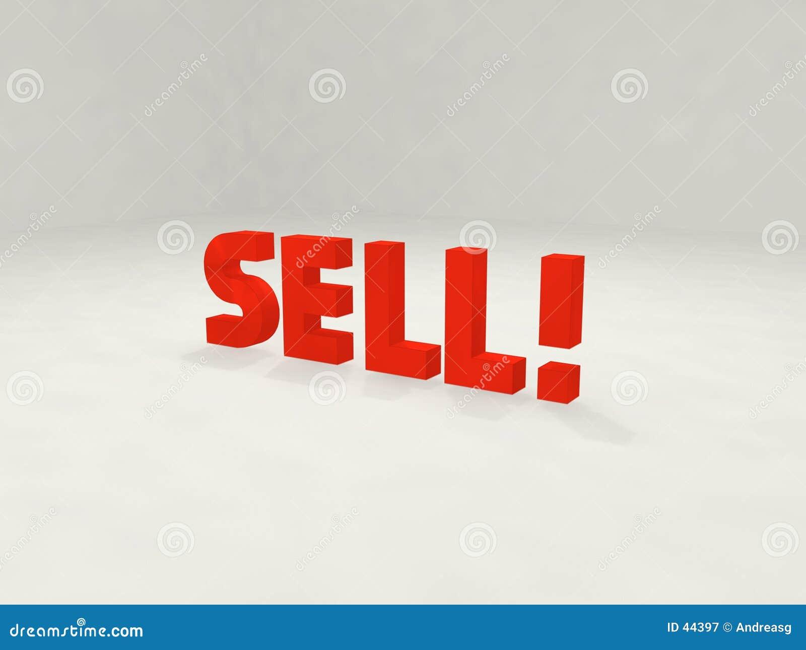 Download Verkauf 3d! stock abbildung. Illustration von symbolisch - 44397