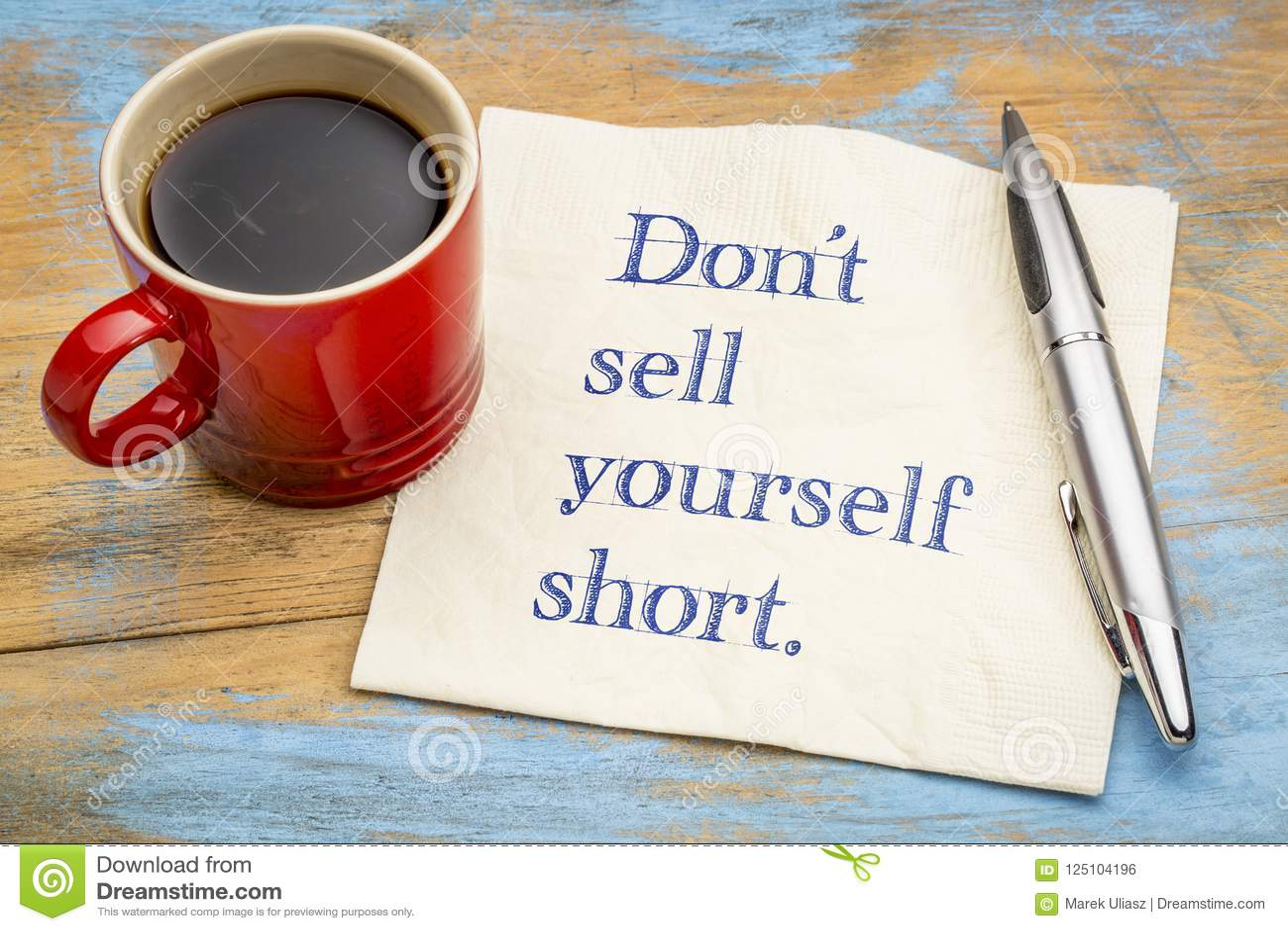 Verkaufen Sie sich nicht kurz
