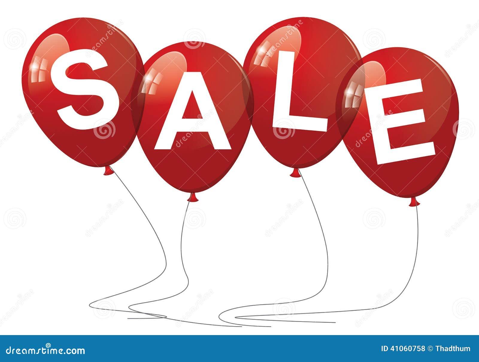 Verkaufs-Ballone