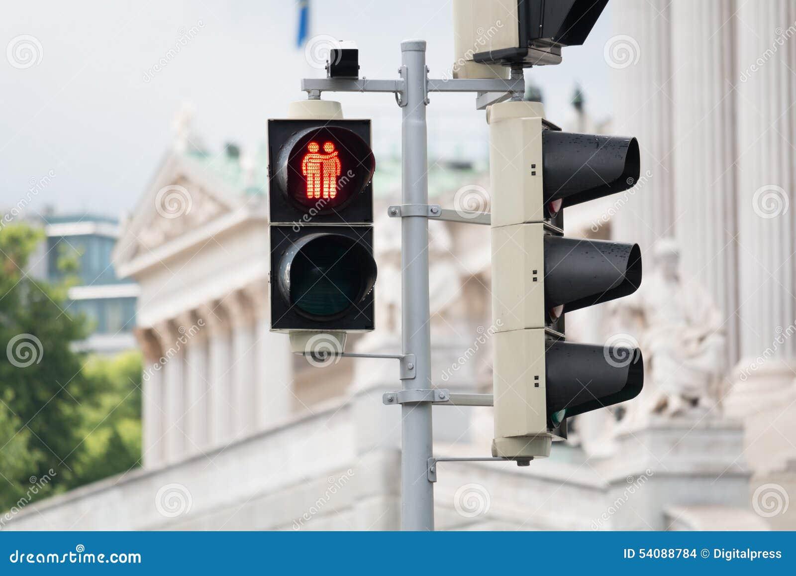 Verkeerslicht Wenen voor meer tolerantie