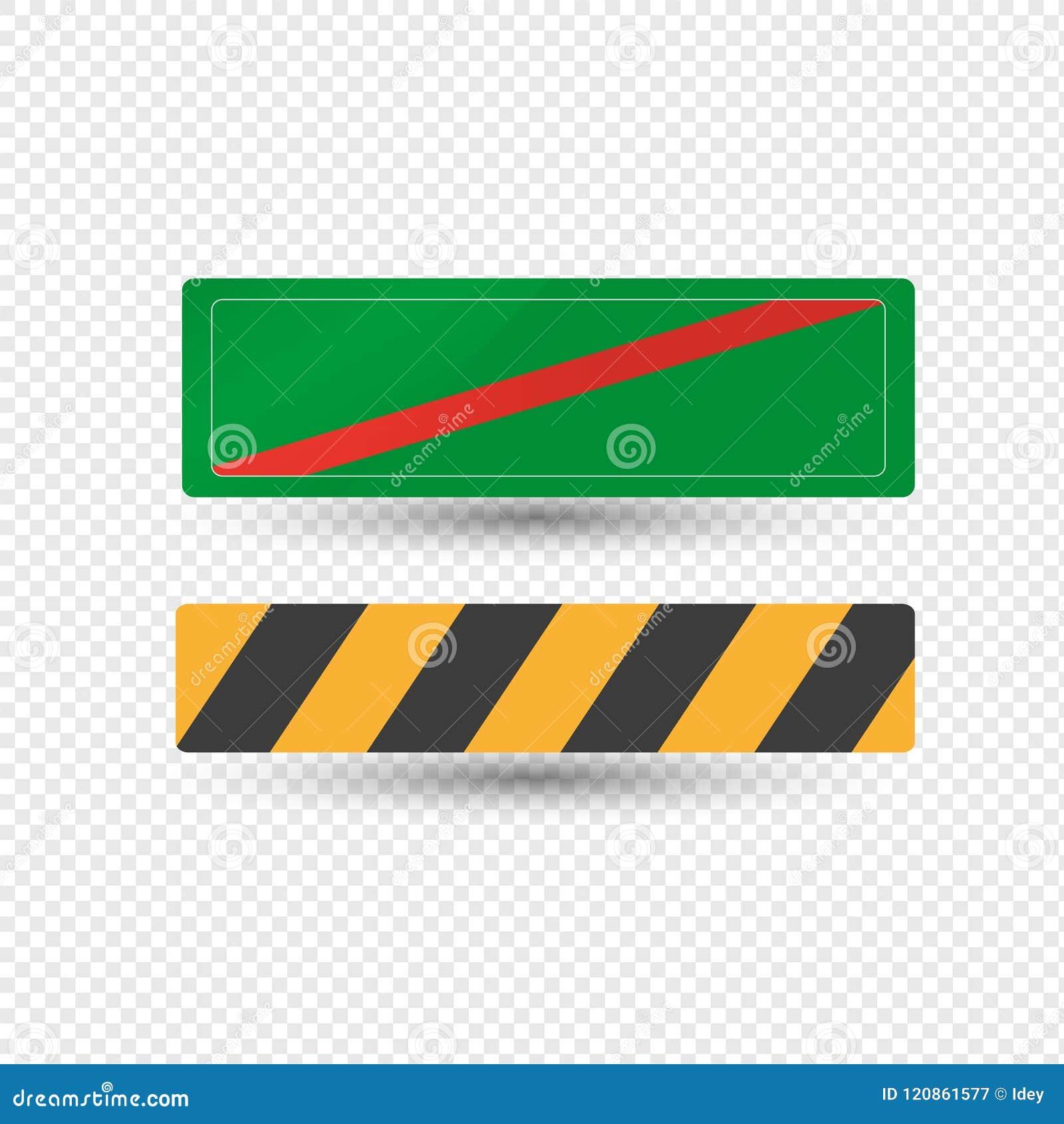 Verkeersteken van waarschuwing, benoemings gevaarlijke gebieden, richting het informeren