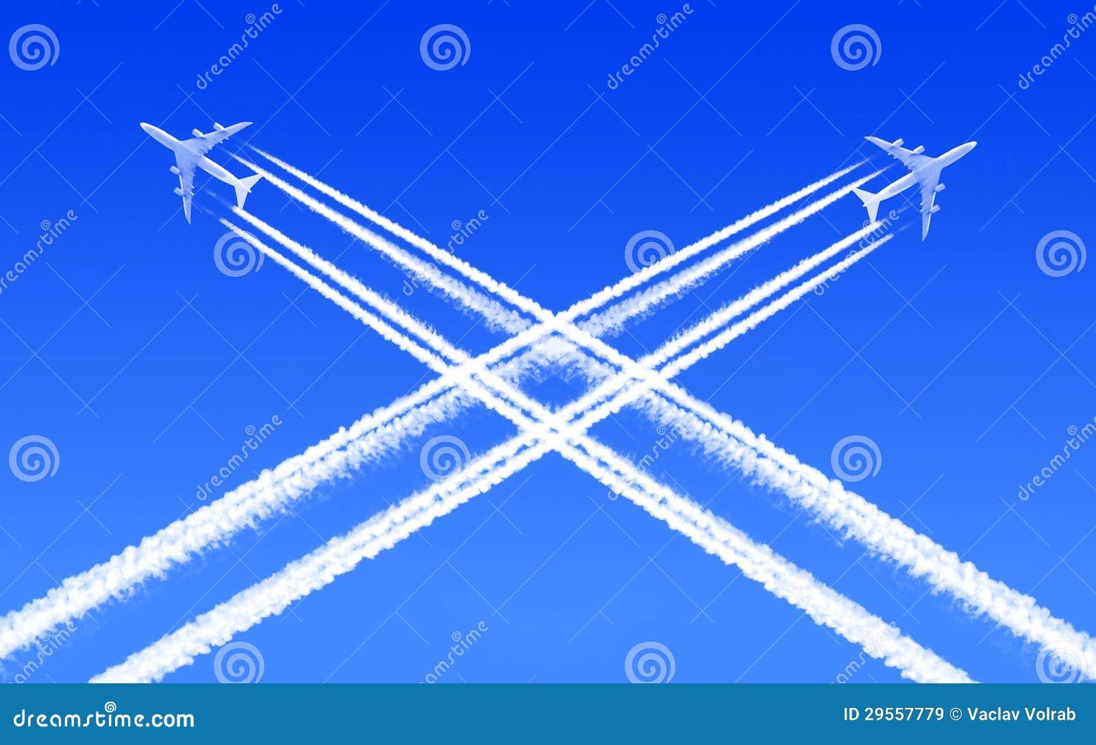 Verkehr in der Luft