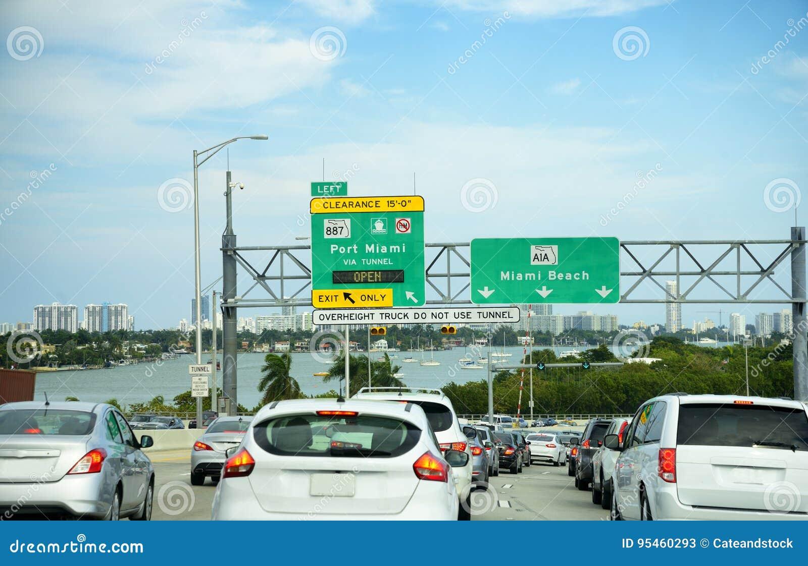 Verkehr in Miami, Florida