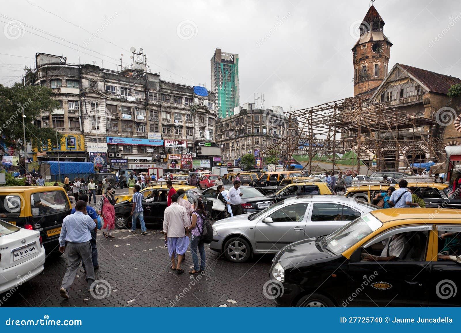 Verkehr in Mumbai