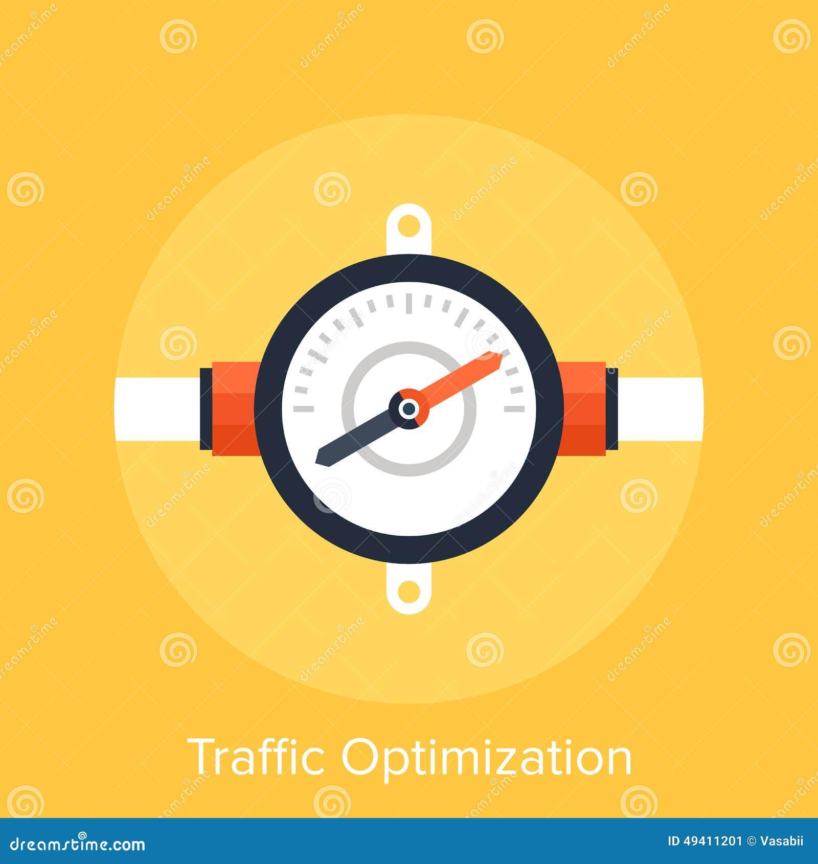 Download Verkehrs-Optimierung stockbild. Bild von geschäft, technologie - 49411201